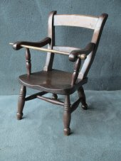 Victorian childs windsor chair