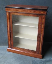 Victorian Rosewood Pier Cabinet (1 of a near pair)