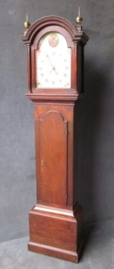 OAK LONGCASE BY WAINWRIGHT OF NOTTINGHAM