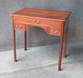 A Georgian Mahogany Chippendale style Lowboy