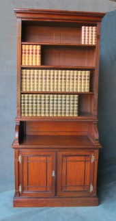 Victorian Walnut Aesthetic Movement Bookcase