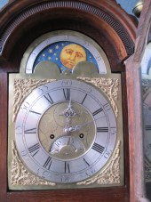 Oak Longcase Clock By Rich Watkin Merthyr Tydfil