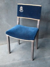 A Silver Jubilee Replica Coronation Chair