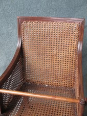A Victorian Mahogany Hepplewhite Style Childs High Chair